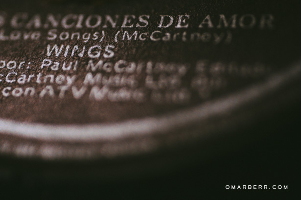 vinilo paul mccartney, cancion amor, fotografo bodas peru