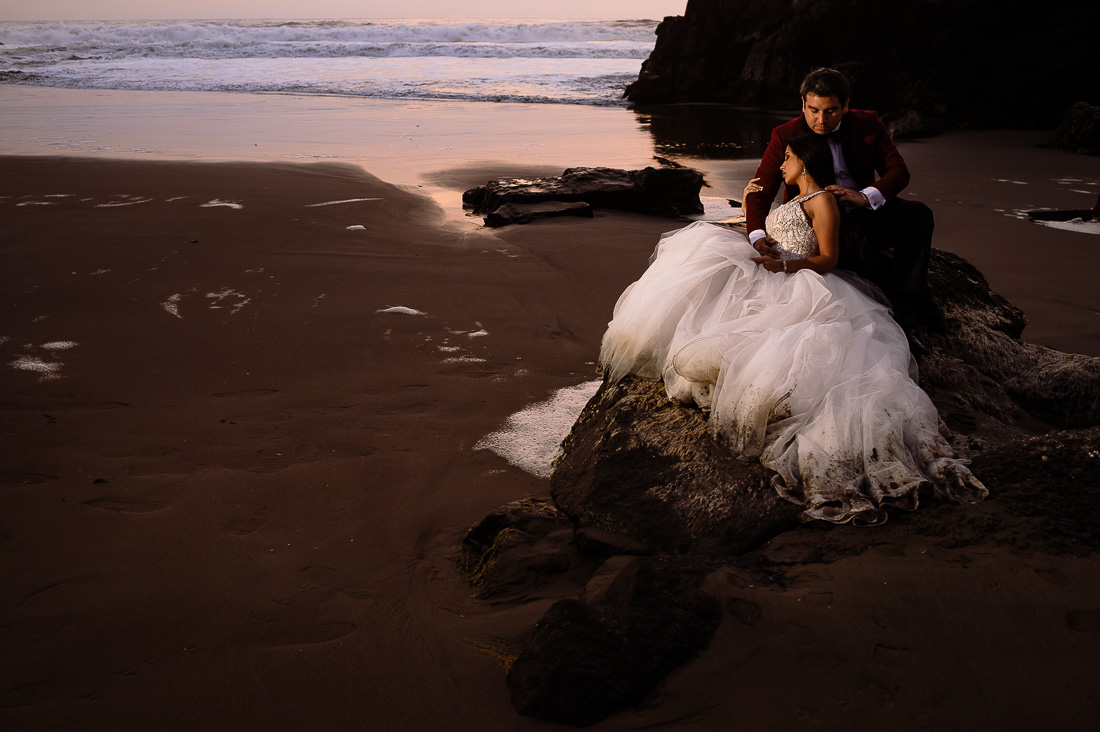 foto sesion trash the dress playa tdd lima