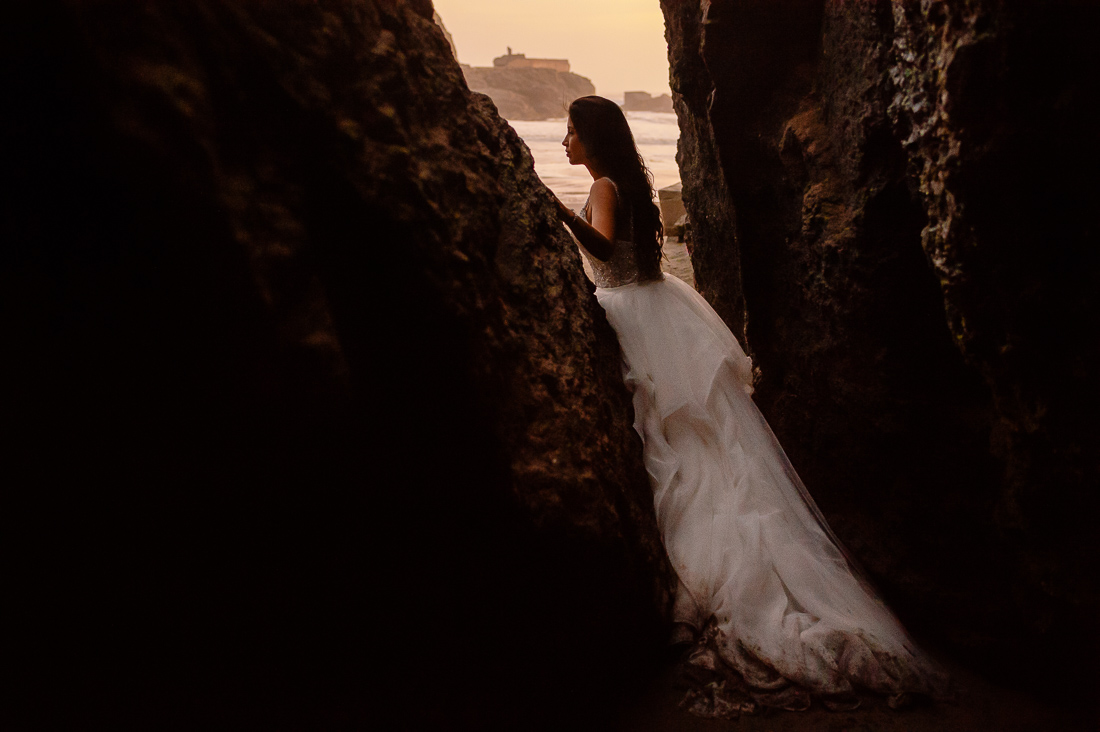 foto sesion trash the dress playa tdd lima