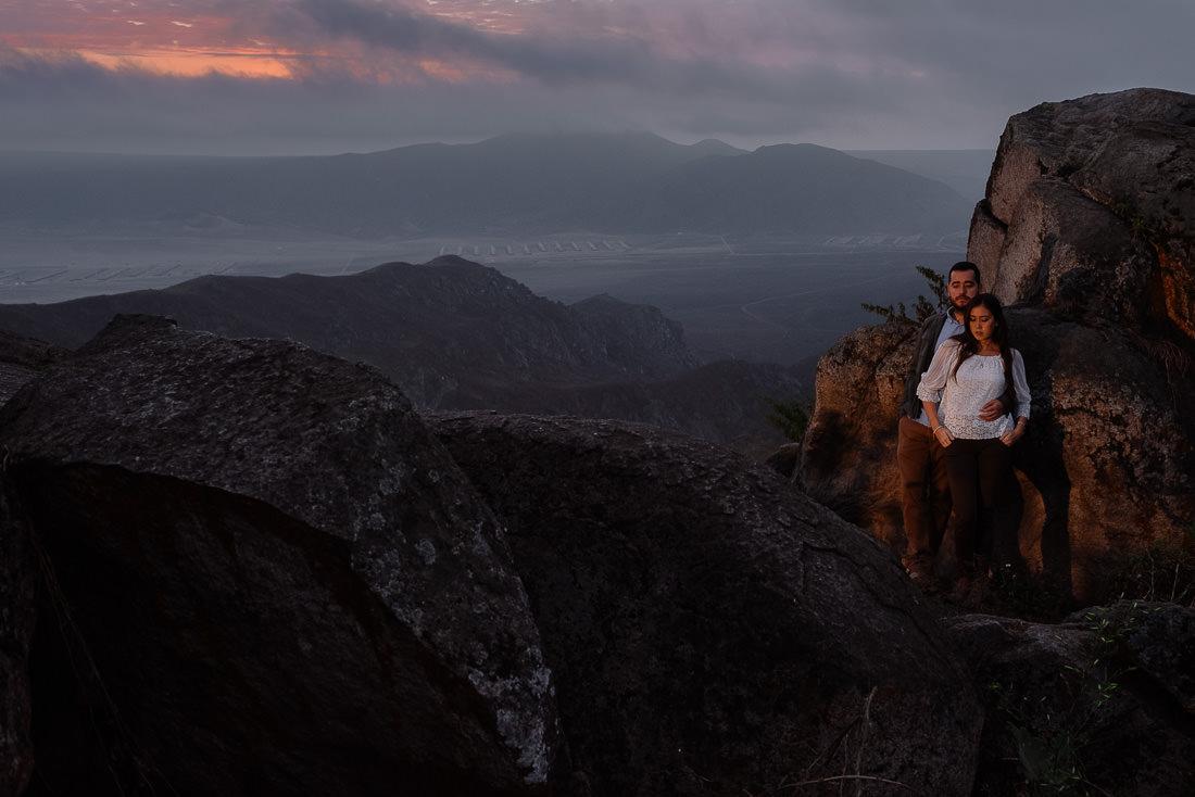 novios, paisaje, sunset, mountain, rocas, modelos, lomas de lachay