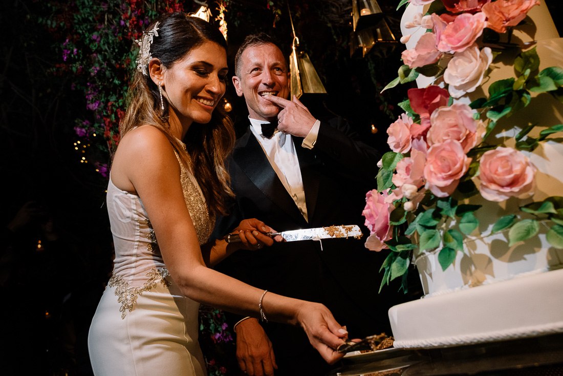 ceremonia de matrimonio novia y novio